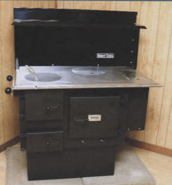 Bakers Choice Wood Burning Cook Stove with Side Reservoir