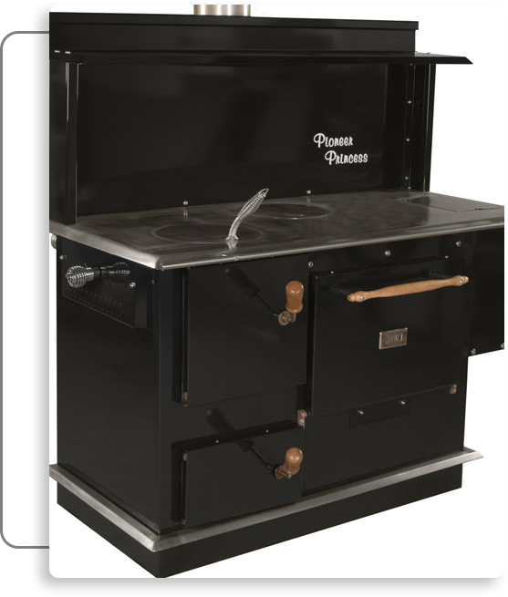 Pioneer Princess Wood Burning Cook Stove